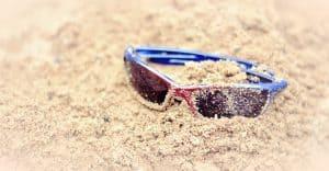 Sommertyp Sonnenbrille